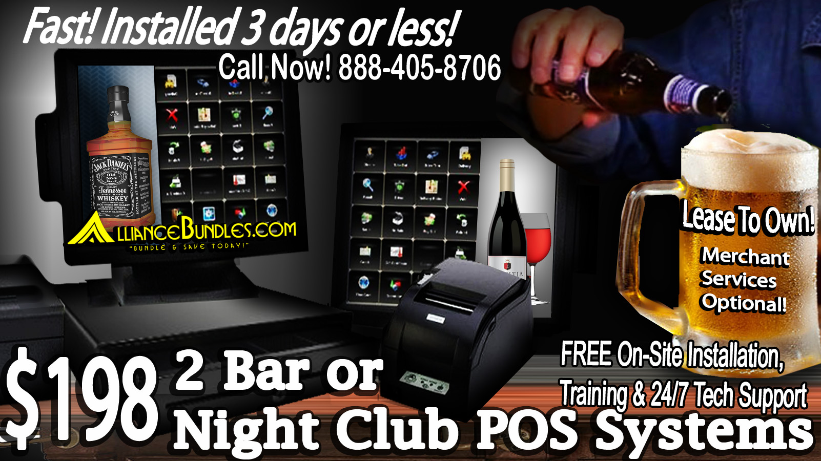 Bar and Nightclub POS System