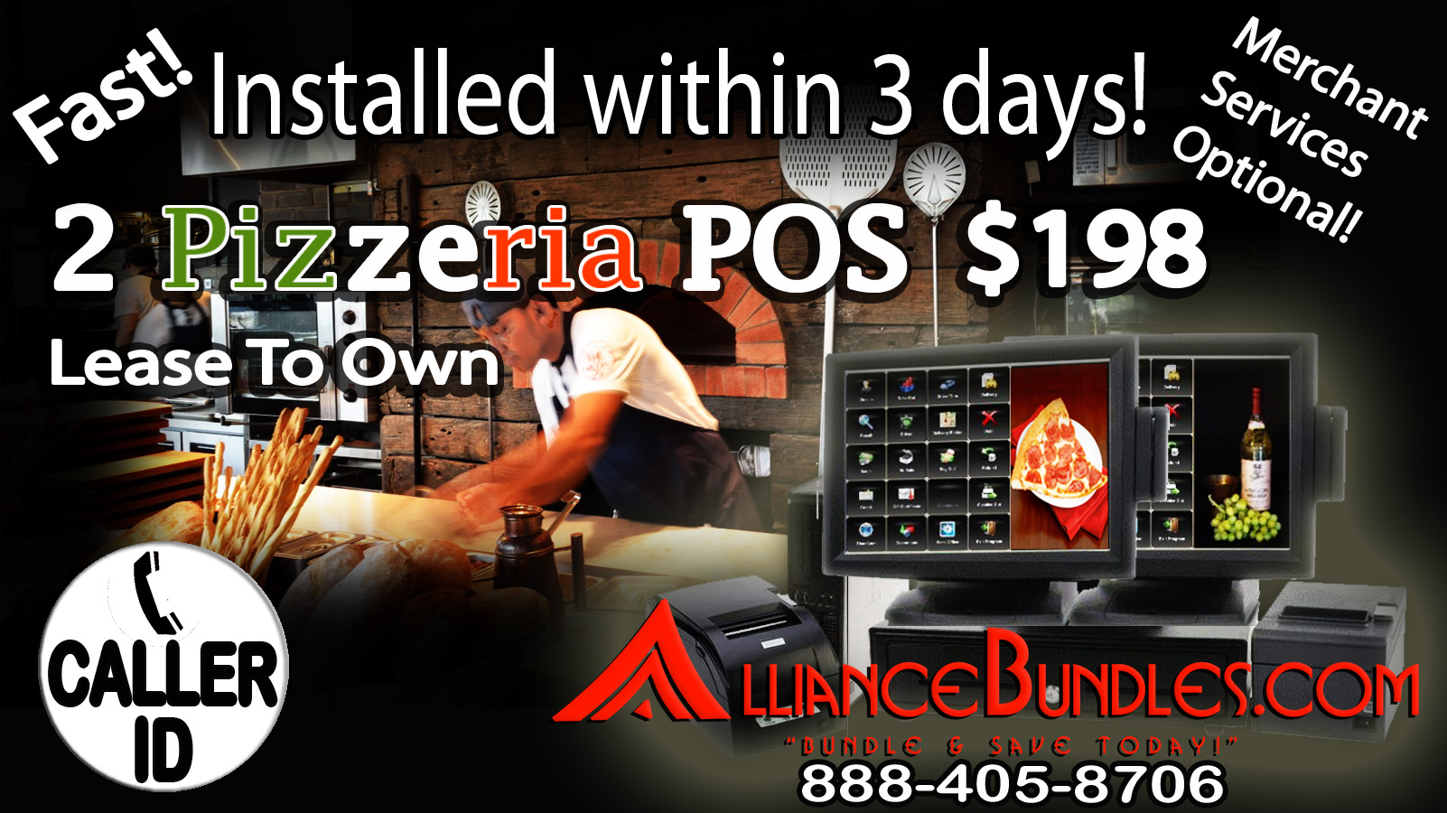 Point of Sale Pizzeria POS System
