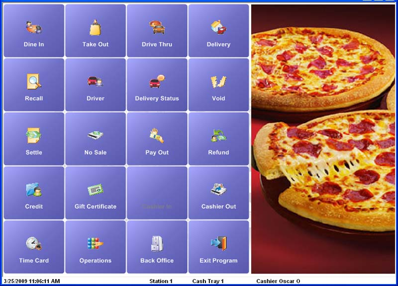 Pizza Restaurant Pos System As Low As 79 Month