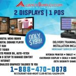 AIO Bundle - POS System, Digital Menu Boards & Security Cameras